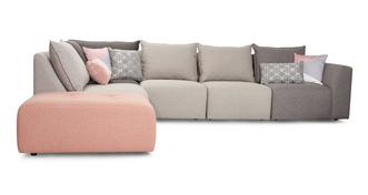 Zania Right Hand Facing Arm Corner Sofa