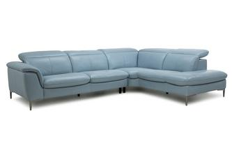 Option A Left Hand Facing Arm 2 Piece Corner Sofa New Club