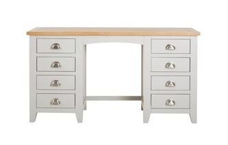 Zennor Double Pedestal Dressing Table Zennor