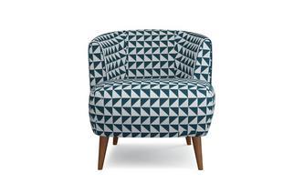 Pattern Tub Chair