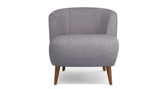Zinc Plain Tub Chair