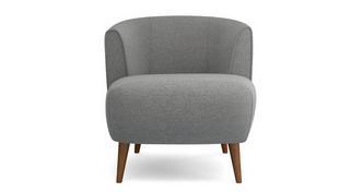 Zinc Weave Tub Chair