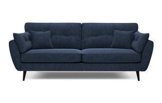 Velvet 4 Seater Sofa Luxe Velvet