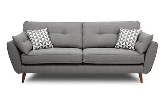4 Seater Sofa Zinc