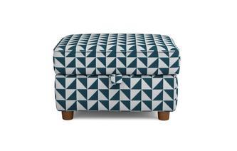Pattern Storage Footstool