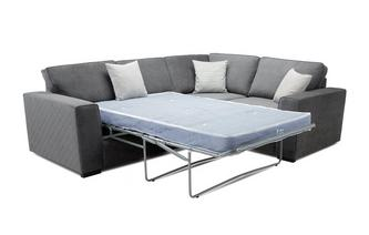 Left Hand Facing 2 Seater Deluxe Corner Sofabed