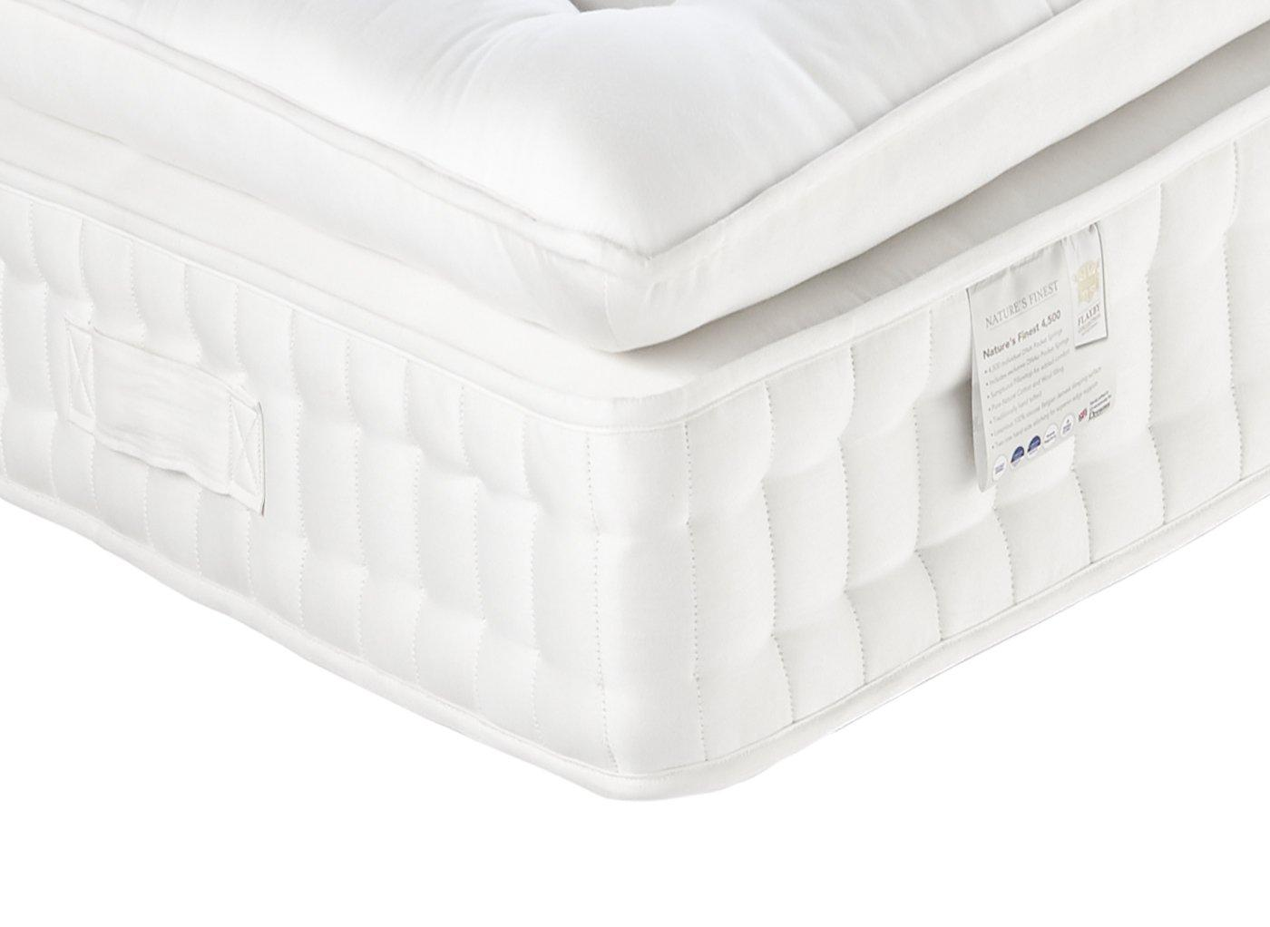 Flaxby Natures Finest 4500 Mattress - Medium / Medium Soft 6'0 Super king