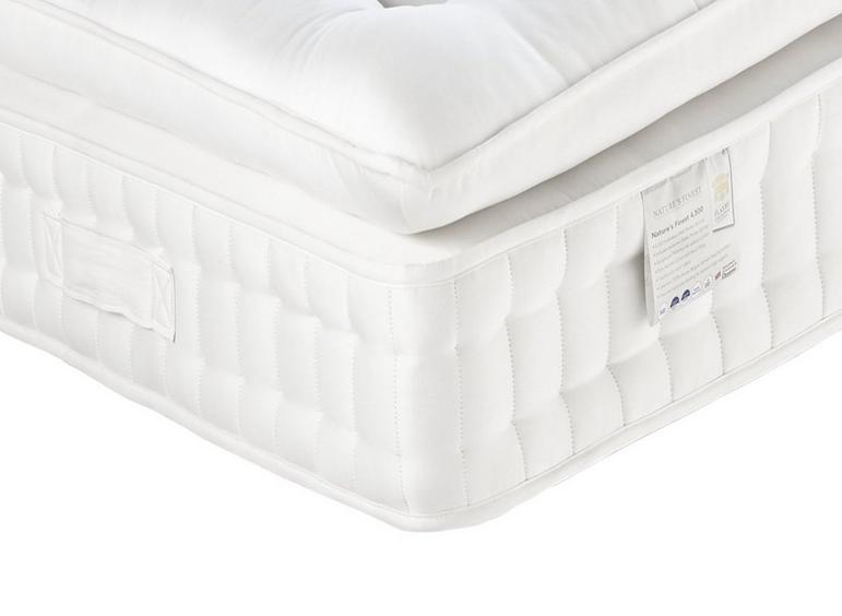 Flaxby Natures Finest 4500 Mattress - Medium / Medium Soft 5'0 King