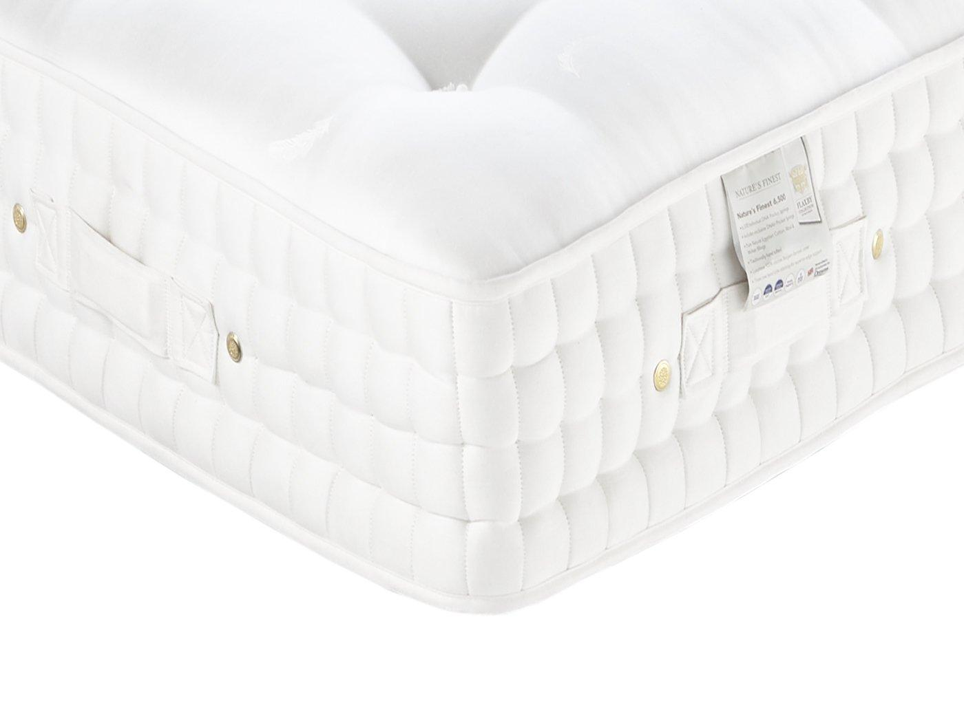 Flaxby Natures Finest 6500 Dnair Mattress - Soft / Medium 5'0 King