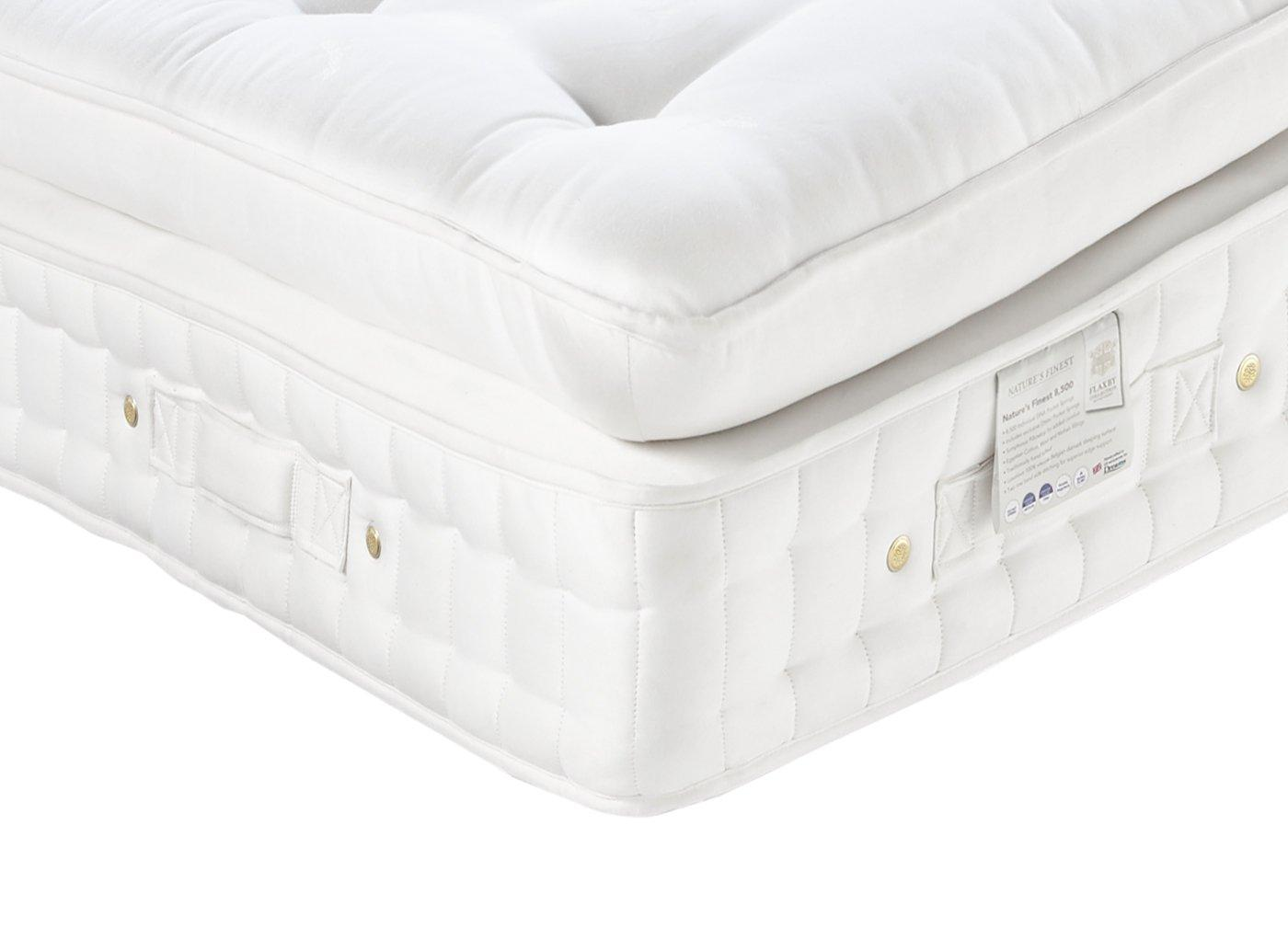 Flaxby Natures Finest 8500 Dnair Mattress - Medium / Firm 3'0 Single