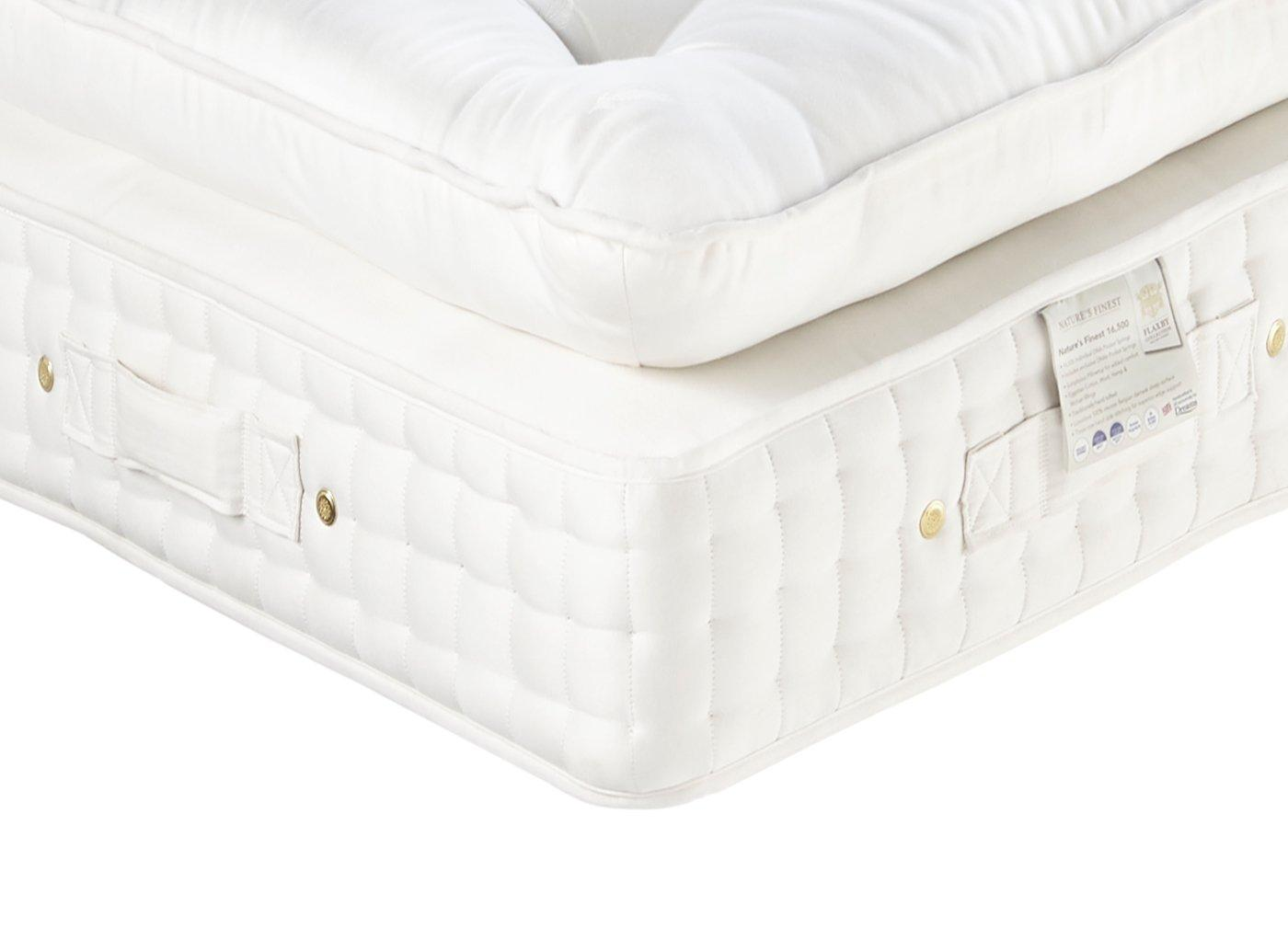 Flaxby Natures Finest 16500 Dnair Mattress - Soft / Medium Soft 4'0 Small double