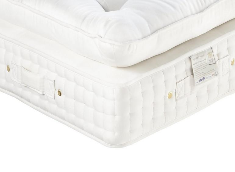 Flaxby Natures Finest 16500 Dnair Mattress - Soft / Medium Soft 5'0 King