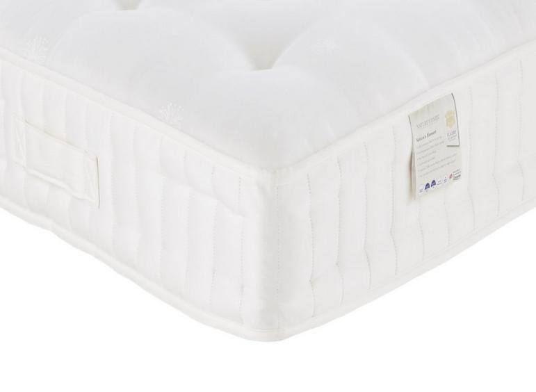 Flaxby Natures Element Dnair Mattress - Medium Firm / Firm 4'0 Small double
