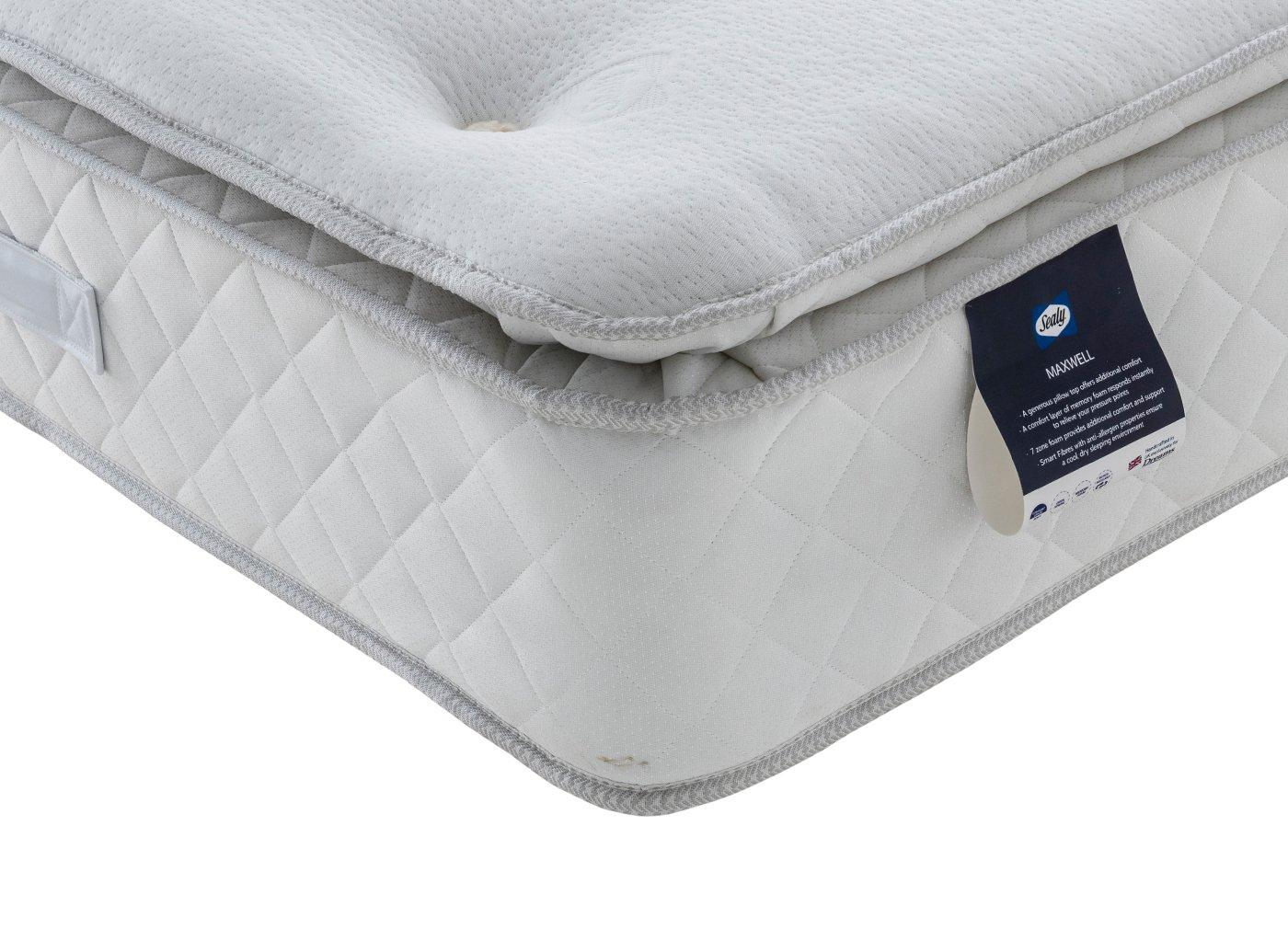 Sealy Maxwell Traditional Spring Mattress (£349)