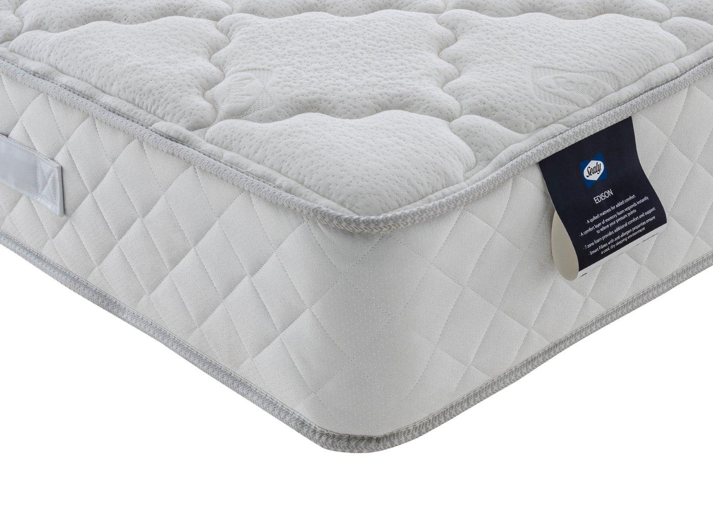 Sealy Edison D Mattress 4'6 Double