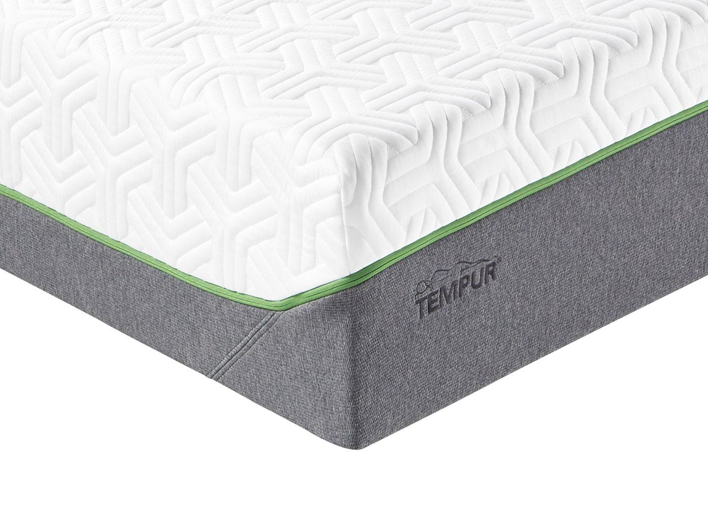 Tempur Cooltouch Hybrid Luxe Adjustable Mattress - Medium Firm 2'6 Small single