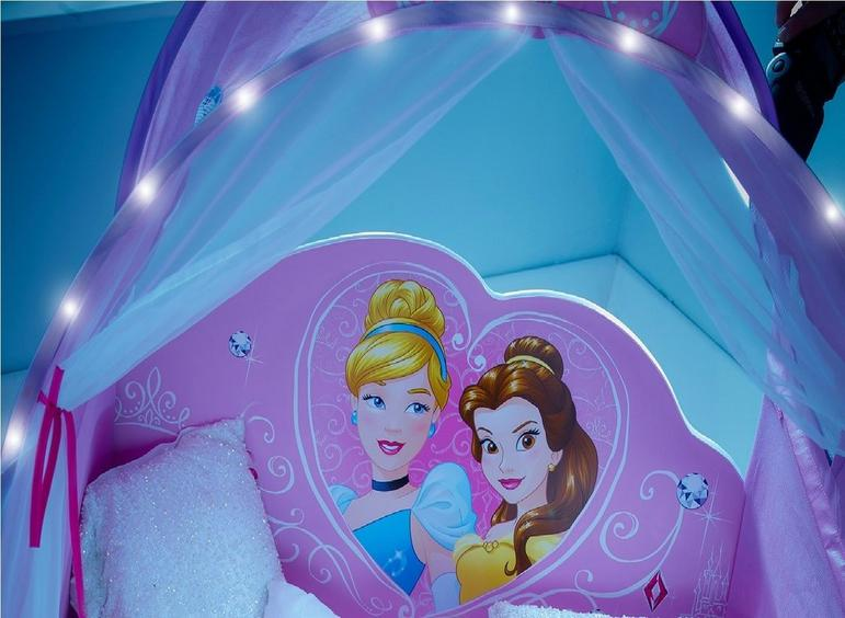 the best attitude bd3be 264b3 Disney Princess Carriage Toddler Bed Frame with Canopy ...