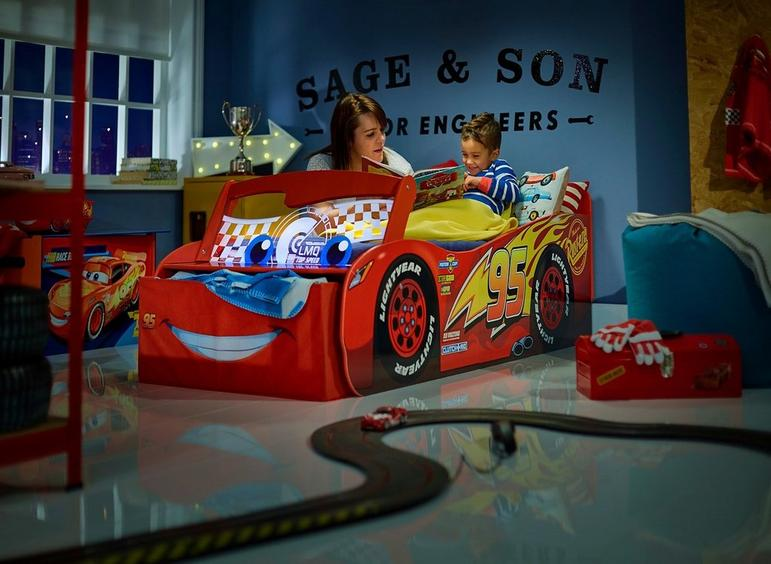 Pictures On Children Sleeper Sofa Disney Cars