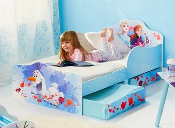 Disney Frozen Toddler Bed with Storage