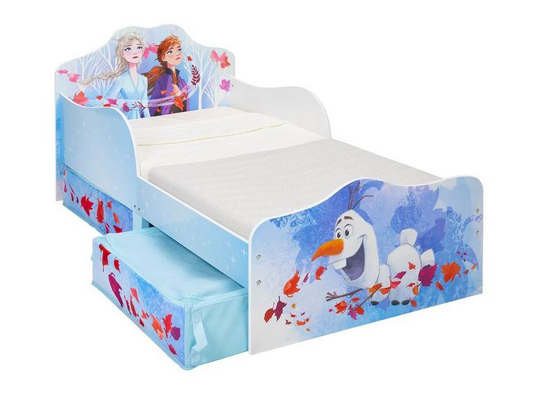 Fabulous Disney Frozen Toddler Bed With Storage Toddler Beds Kids Short Links Chair Design For Home Short Linksinfo