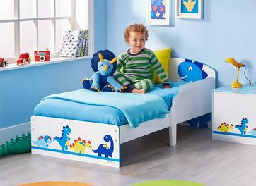 Dinosaurs Toddler Bed
