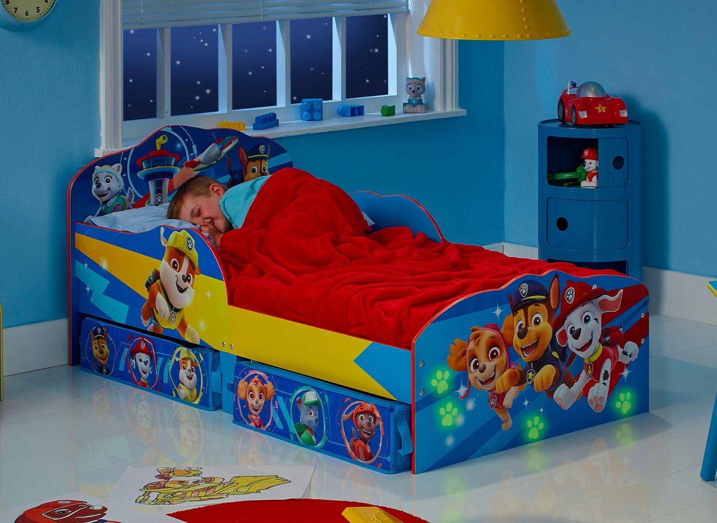 Dreams Paw Patrol Toddler Bed with Storage from £119