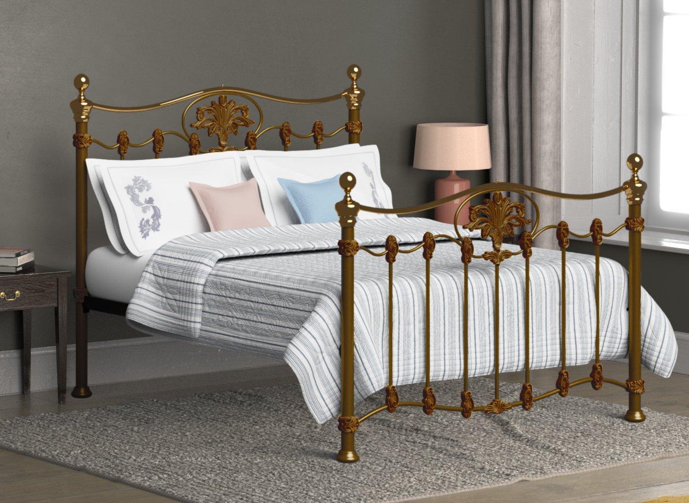 Camolin Bedstead - Bronze 4'6 Double