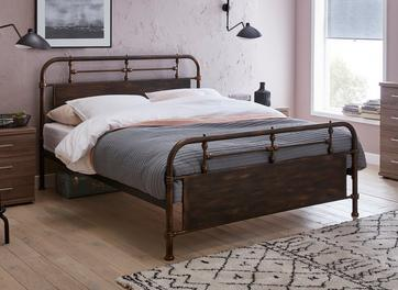 Nixson Metal Bed Frame