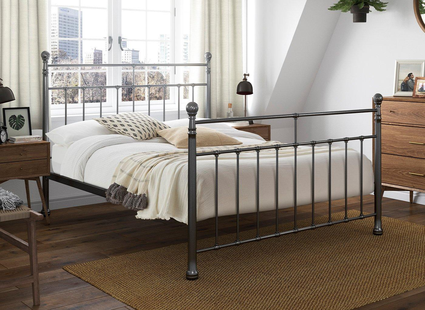 Davis Metal Bed Frame 5'0 King