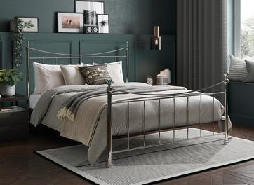 Lizzie Metal Bed Frame