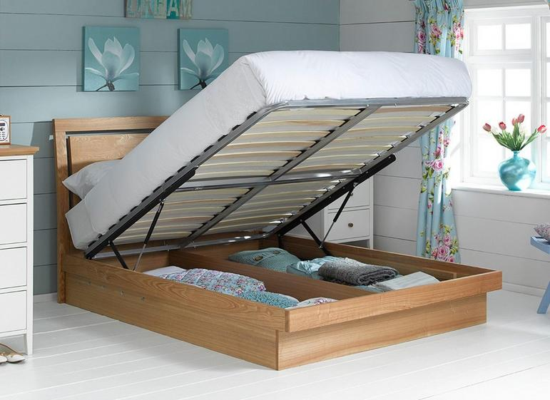 new product af9ef 4aa4b Isabella Wooden Ottoman Bed Frame | Dreams