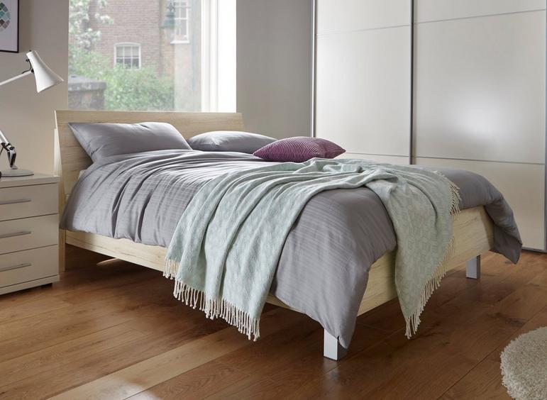Samara Bed Frame - Oak 5'0 King