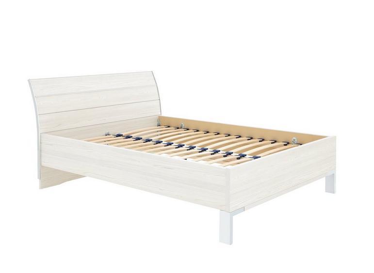 Fiji Bed Frame - Polar 5'0 King WHITE