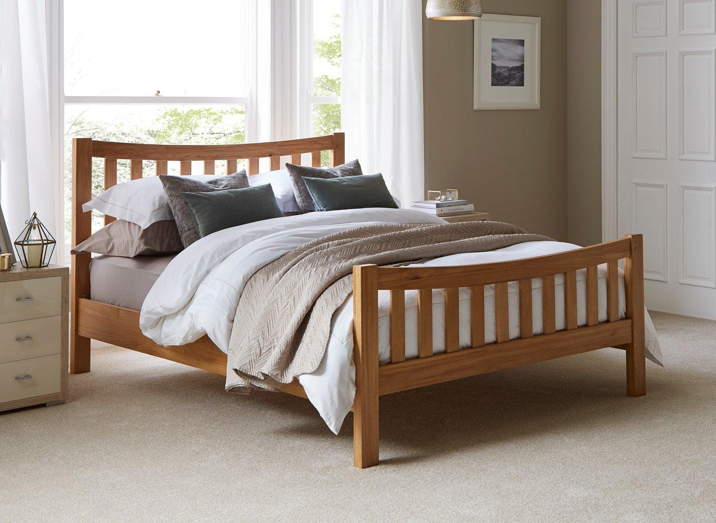 8e45761972d5 Sherwood Wooden Bed Frame | All Beds | Beds | Dreams