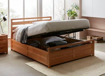 Woodstock Wooden Ottoman Bed Frame