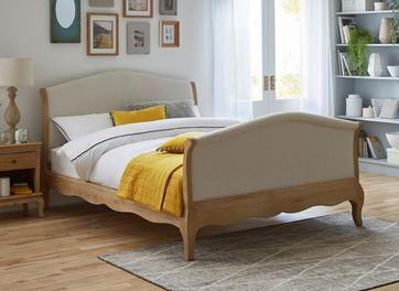 Bond High Footend Wooden Bed Frame