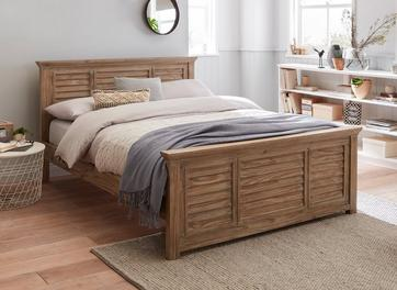 Clark Wooden Bed Frame