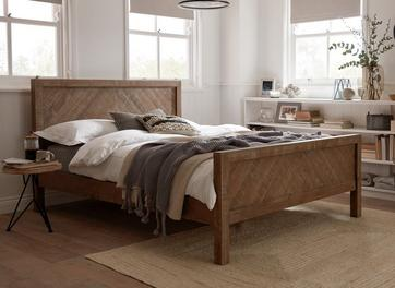 Leighton Wooden Bed Frame