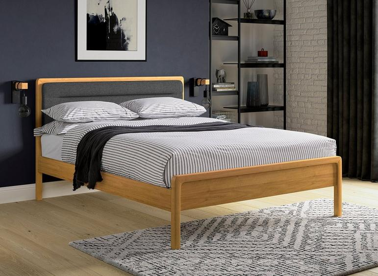 Hastings Wooden Bed Frame 4'6 Double ASH