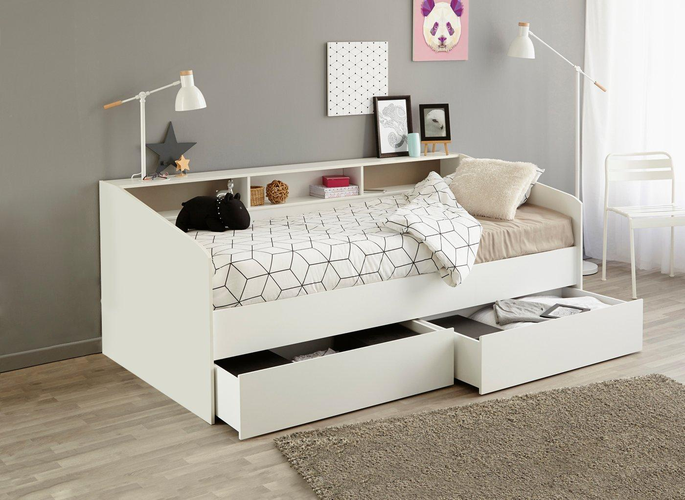 Jamie Day Bed Frame With Storage Day Beds Beds Dreams