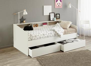 Jamie Day Bed Frame with Storage
