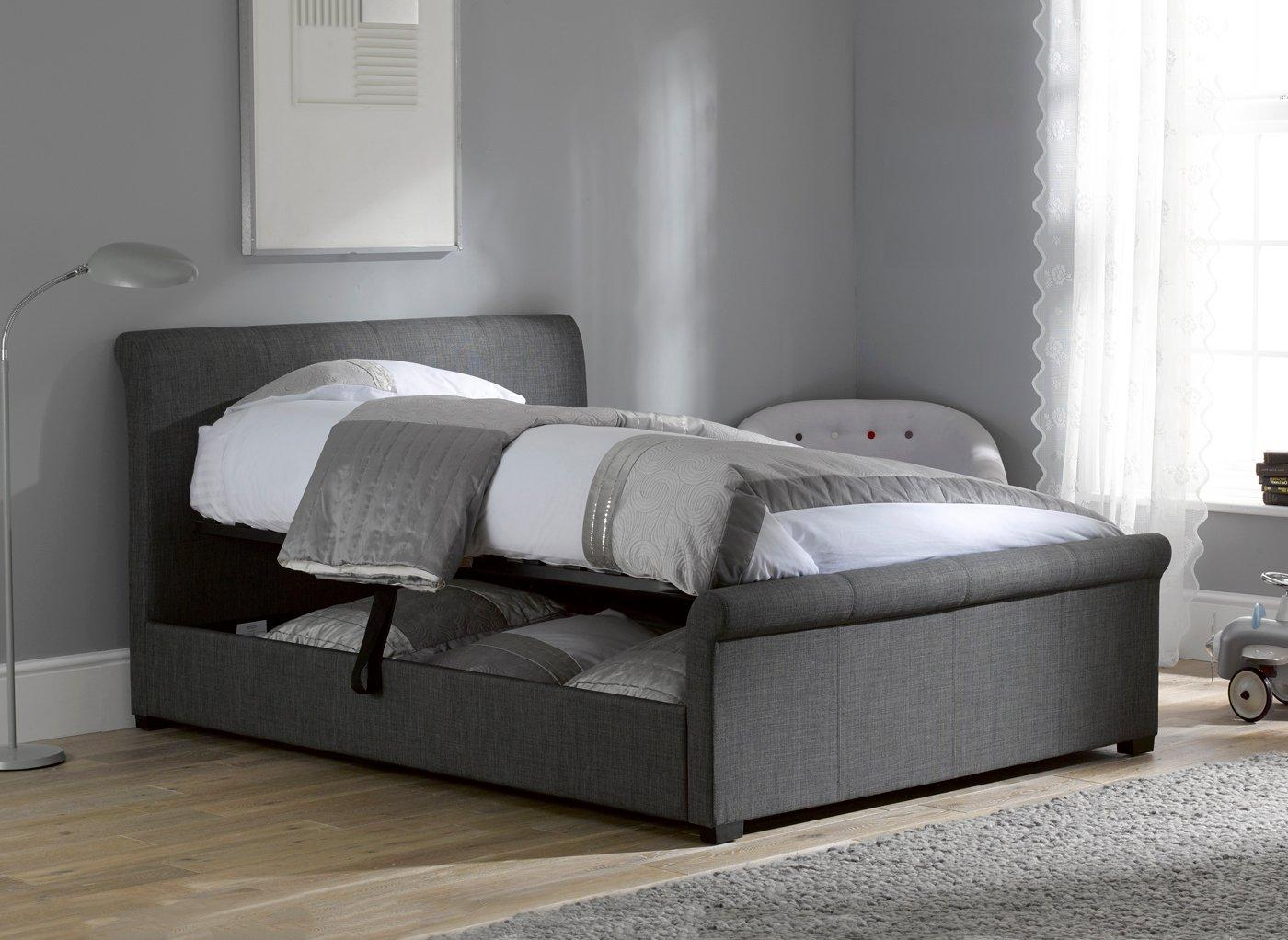 Storage Beds Double King Single Bed With Storage Dreams