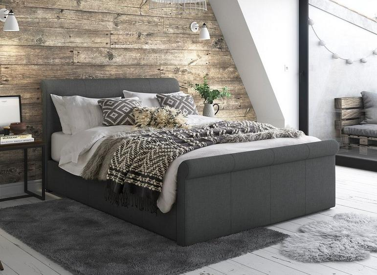 Amazing Wilson Fabric Upholstered Ottoman Bed Frame Dreams Beatyapartments Chair Design Images Beatyapartmentscom