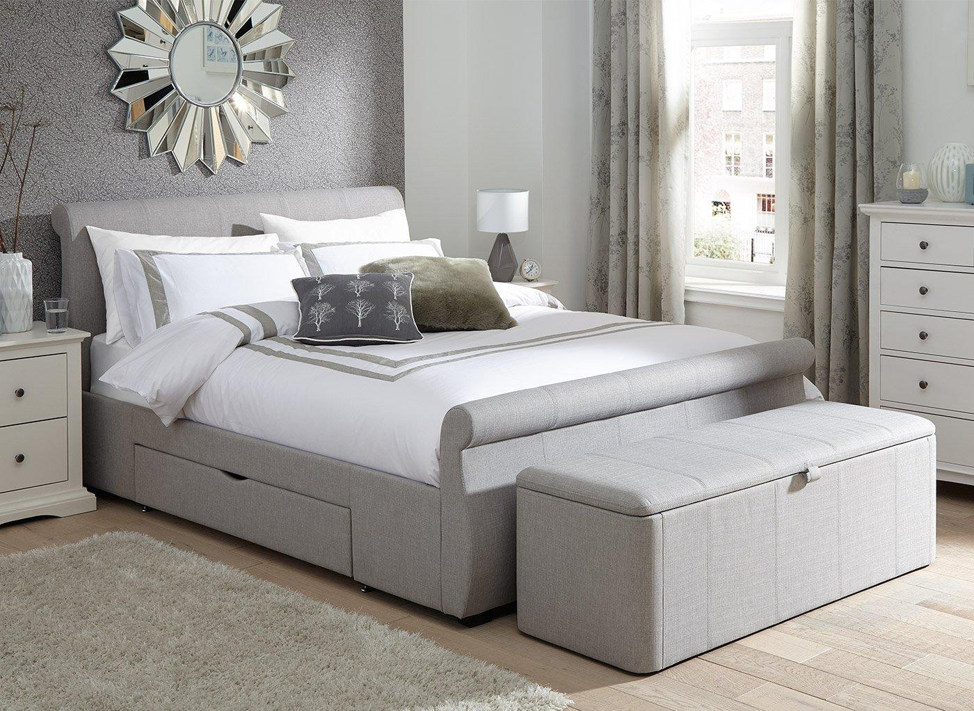 Storage Beds Double King Amp Single Bed With Storage Dreams