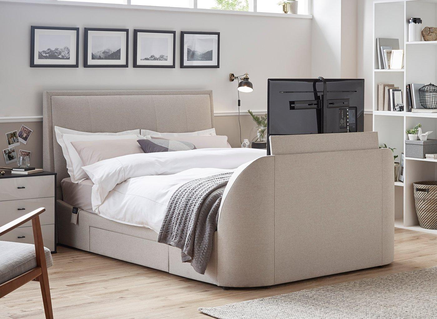 Tv In Bed : Sonic tv bed city furniture shop