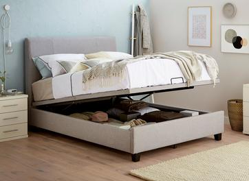 francis upholstered ottoman bed frame - Adjustable Beds For Sale 2