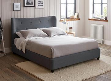 Warne Fabric Upholstered Bed Frame