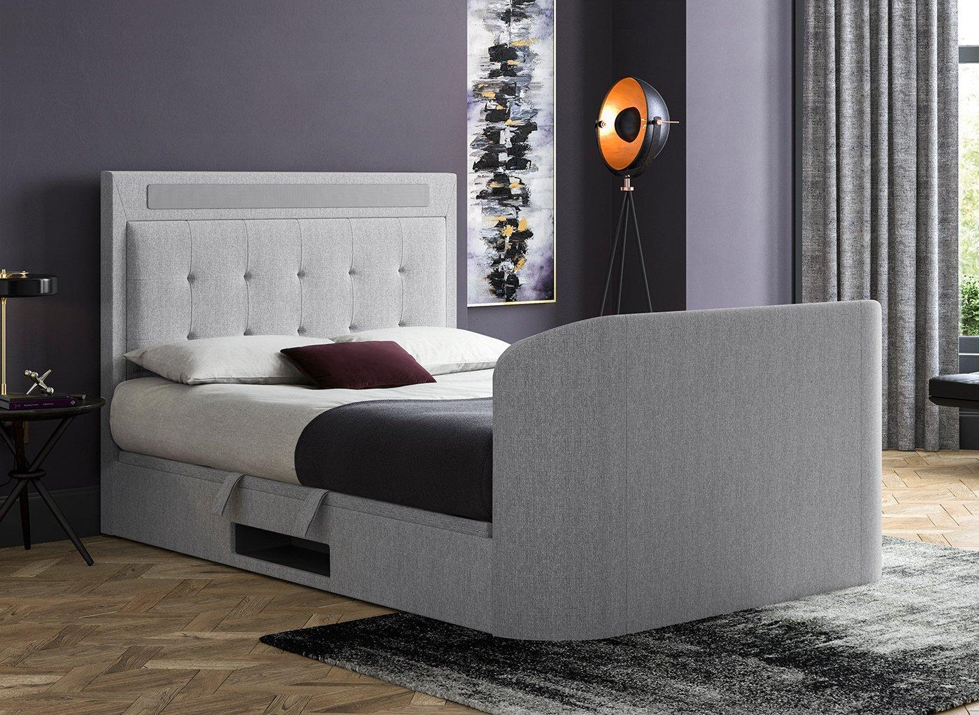 tokyo-upholstered-bed-frame-with-43--smart-led-tv---5-1-surround-sound-system