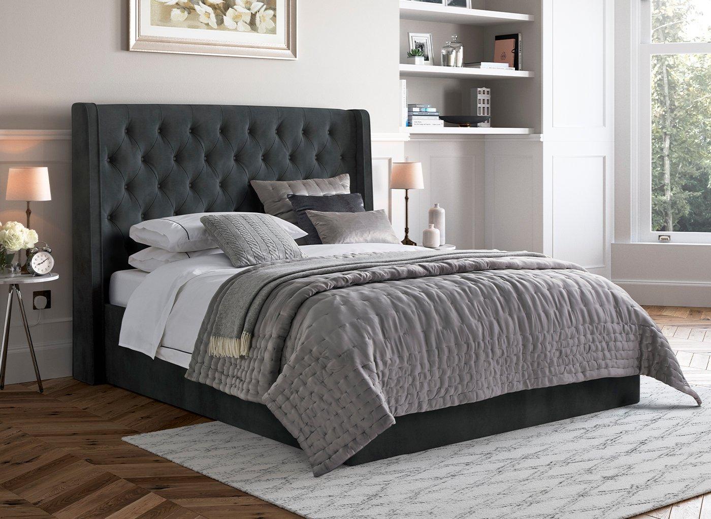 black-bed-closed