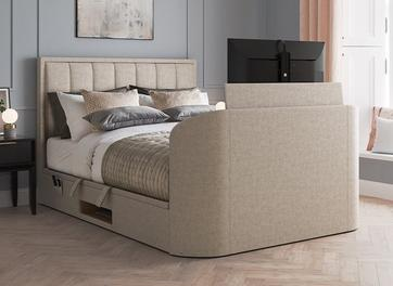 Osaka Upholstered Ottoman Bed Frame with 32